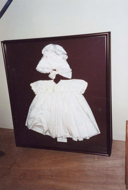 A baby baptism outfit